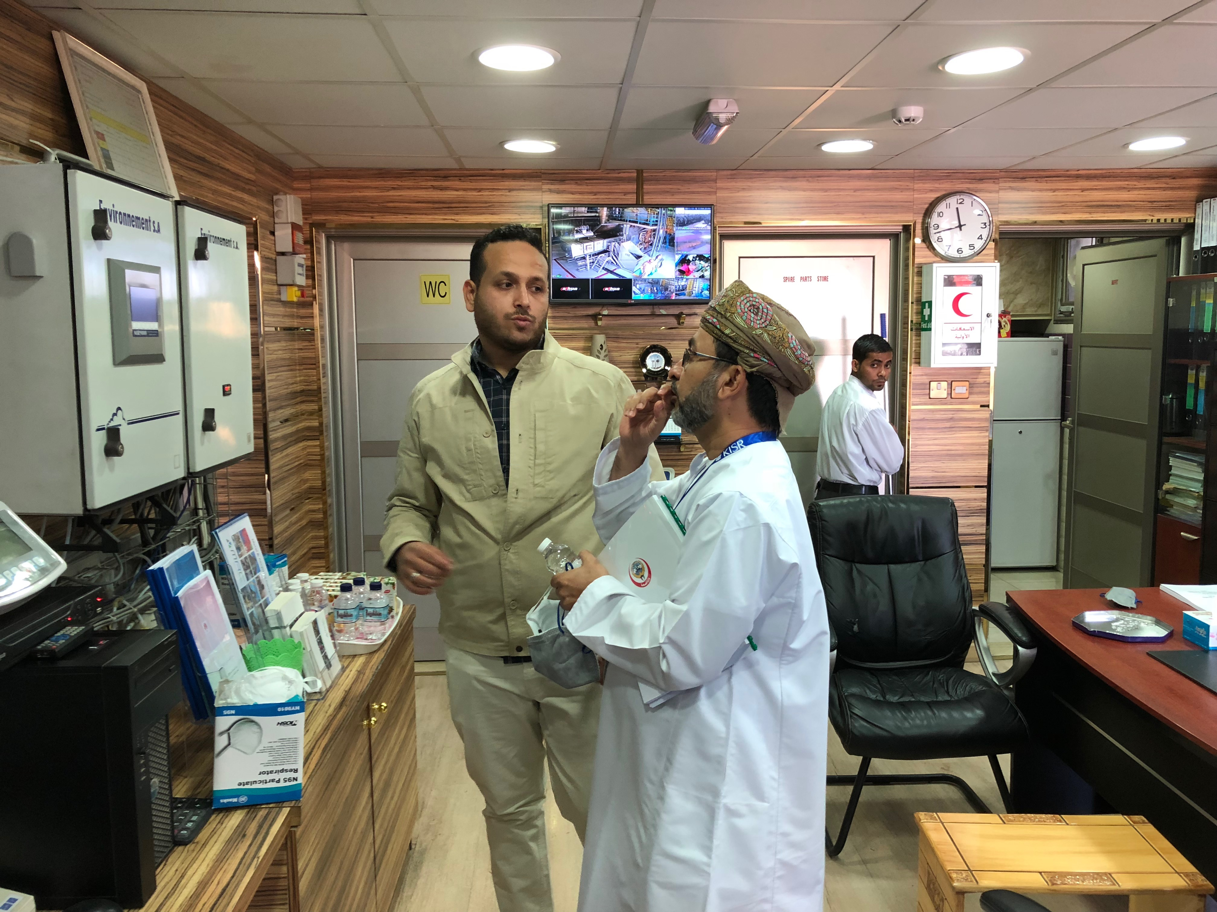 MOH Visit to Kawoosh Medical incinerator